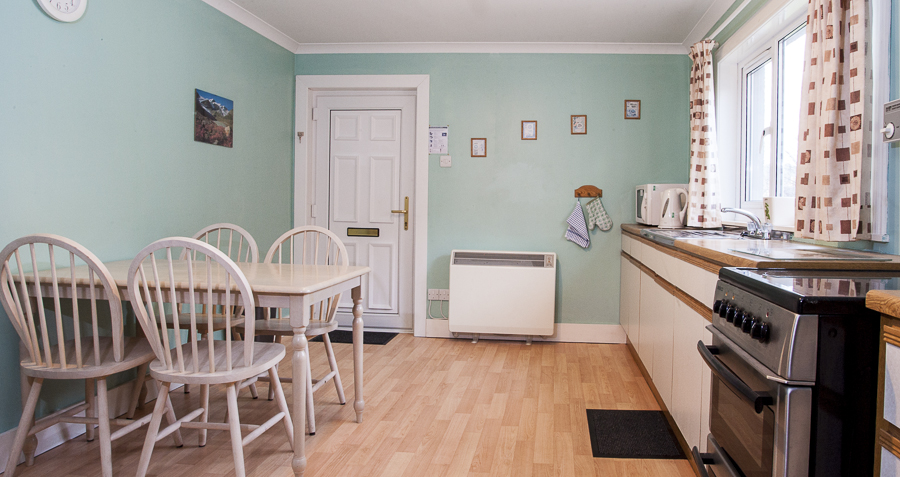 Kitchen at Easdale Self Catering Inverness